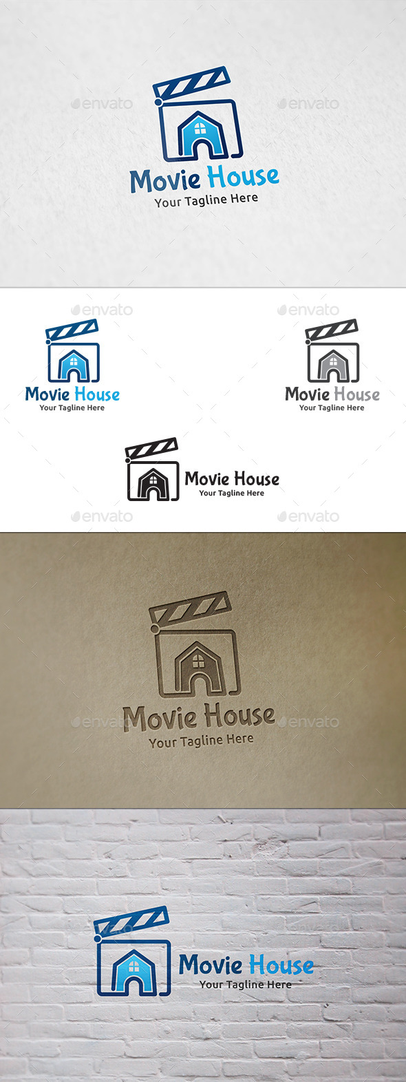 Movie House - Logo Template - Buildings Logo Templates