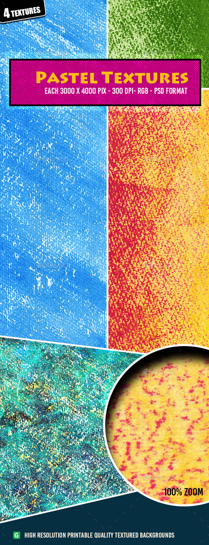 Pastel Texture Pack 34 - Art Textures