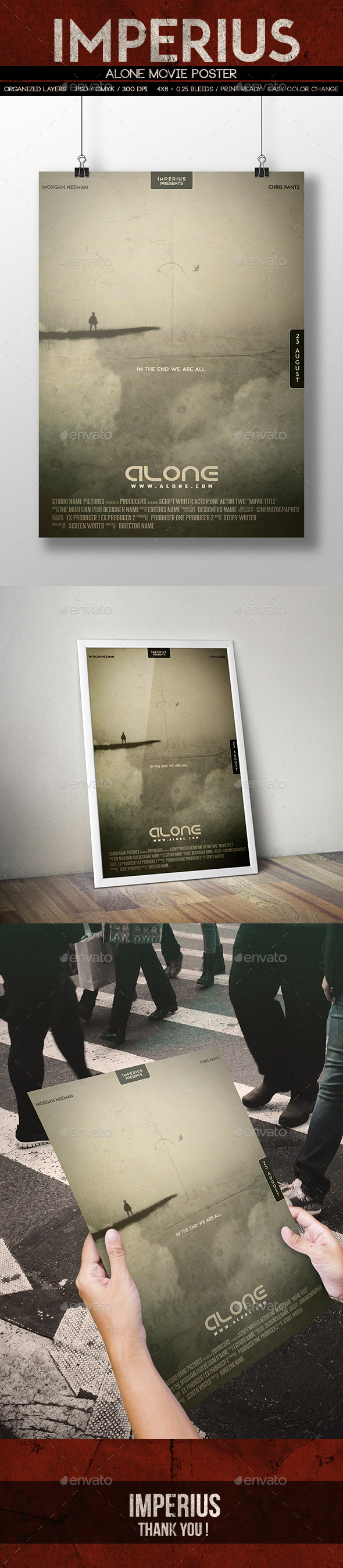 Alone Movie Poster - Miscellaneous Events