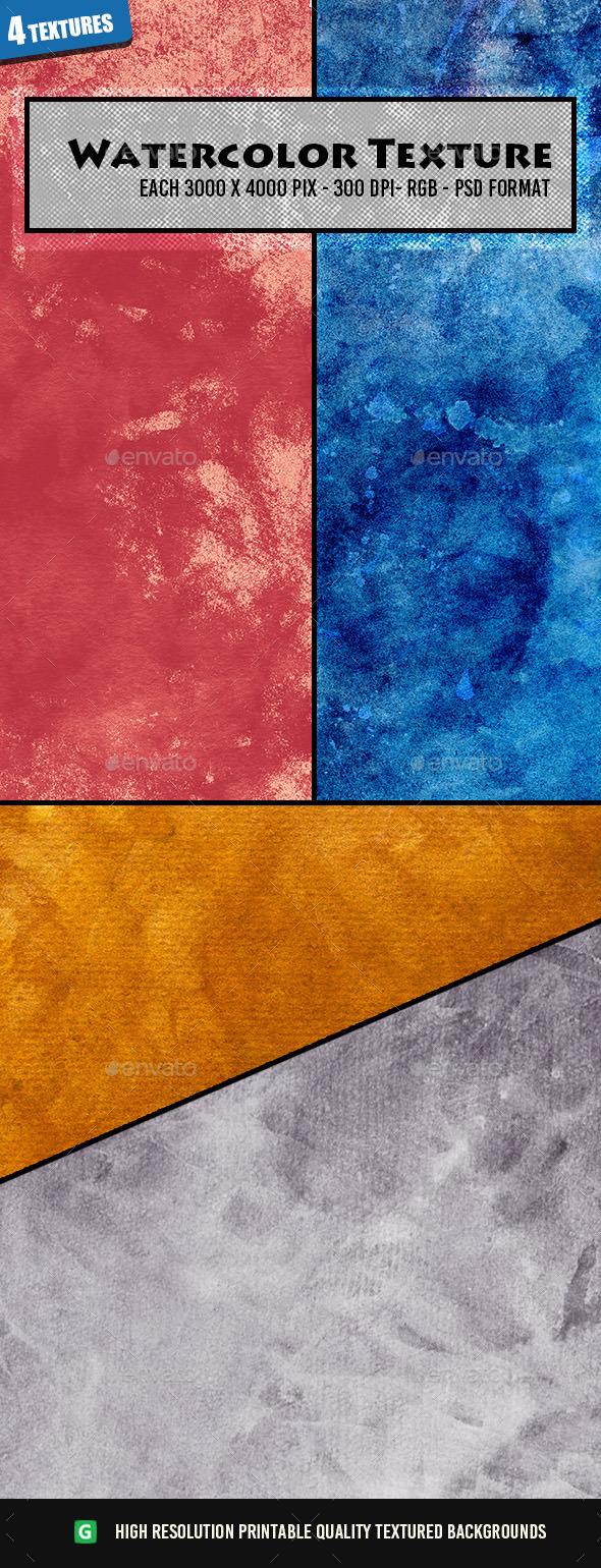 Watercolor Texture Pack 37 - Art Textures