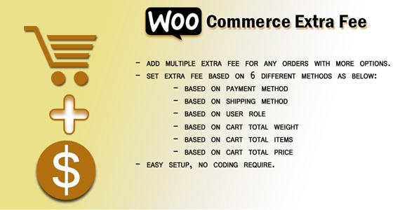 Woocommerce Extra Fee - CodeCanyon Item for Sale