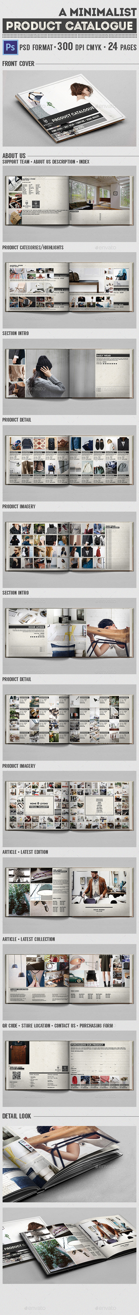 Minimalist Product Catalog - Catalogs Brochures