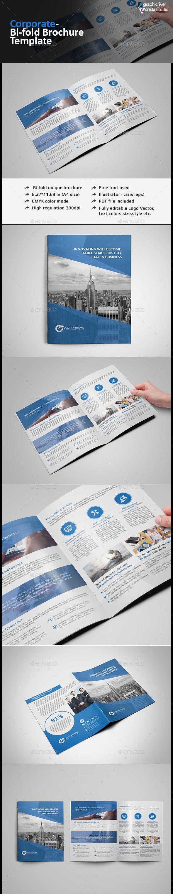Bi-fold Brochure - Corporate Brochures