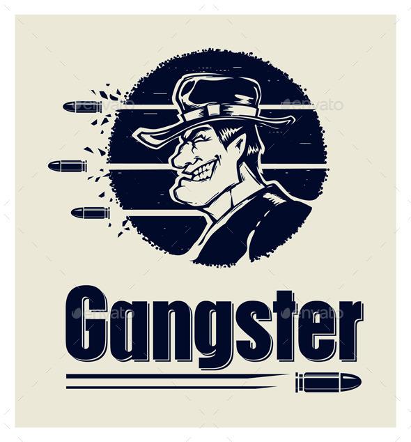 gangster logo by desst graphicriver