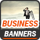 Business Banners v5 - GraphicRiver Item for Sale
