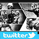 Twitter Photo Collage Header V4 - GraphicRiver Item for Sale