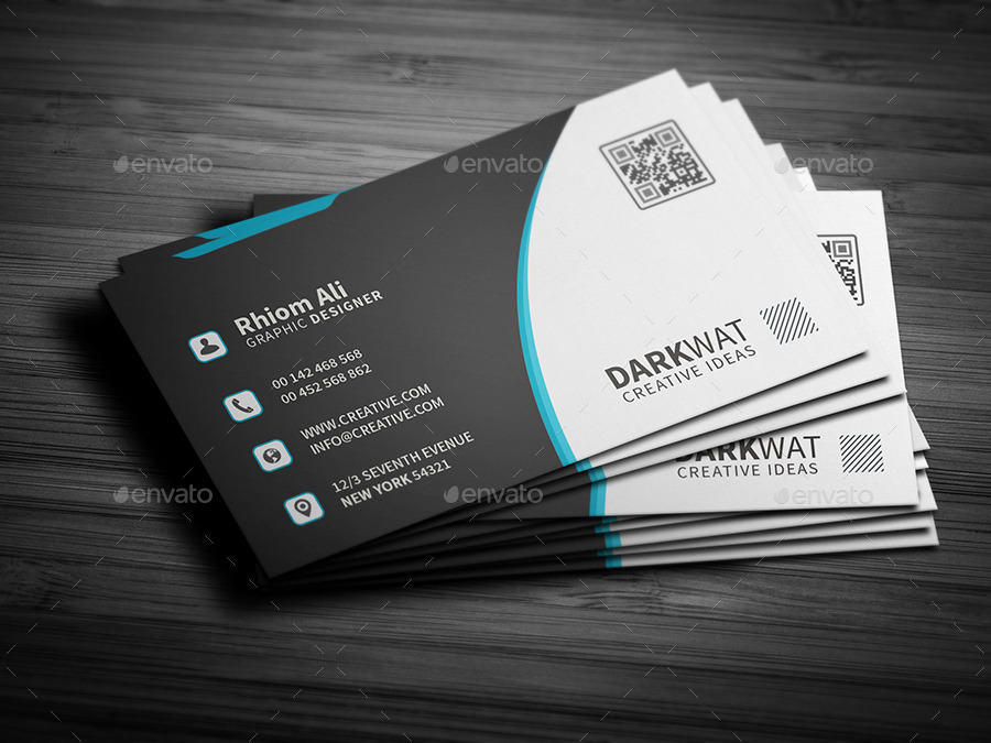 Professional Creative Business Card by mosaddek | GraphicRiver