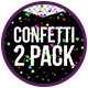 Lovely Confetti - 2 Pack - VideoHive Item for Sale