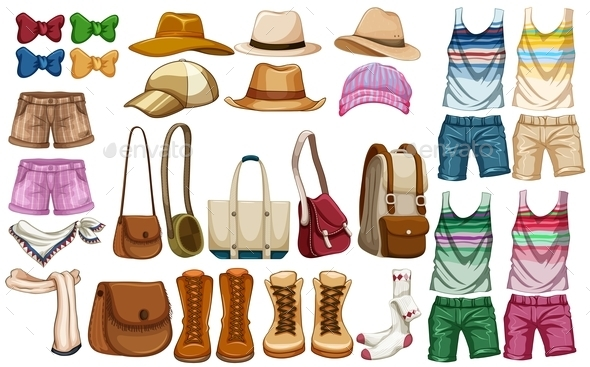 Hipster Accessories  - Miscellaneous Vectors