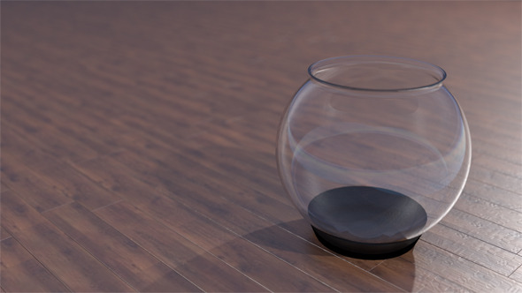 Round Aquarium  - 3DOcean Item for Sale