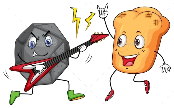 Rock and Roll Playing Music - Miscellaneous Conceptual