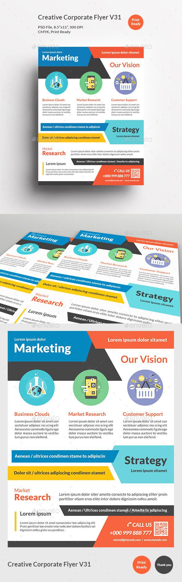 Creative Corporate Flyer V31