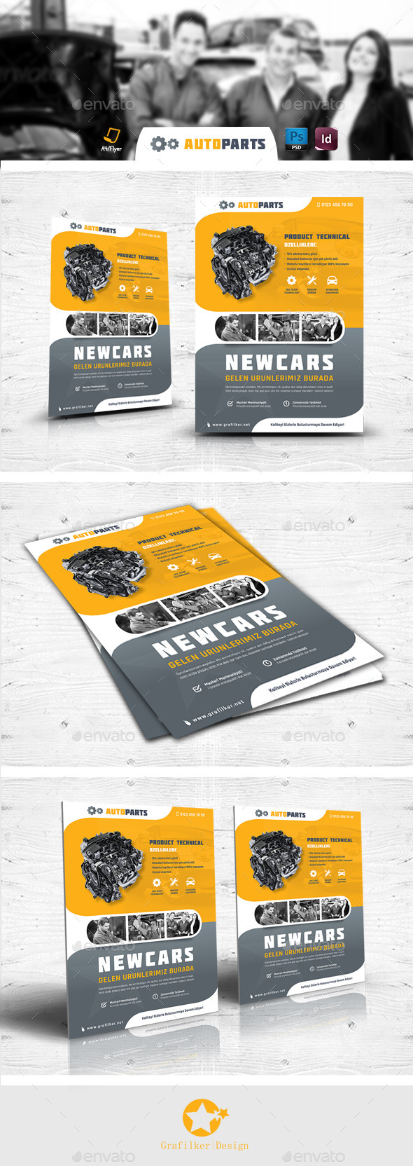 Automobile Service Flyer Templates - Corporate Flyers