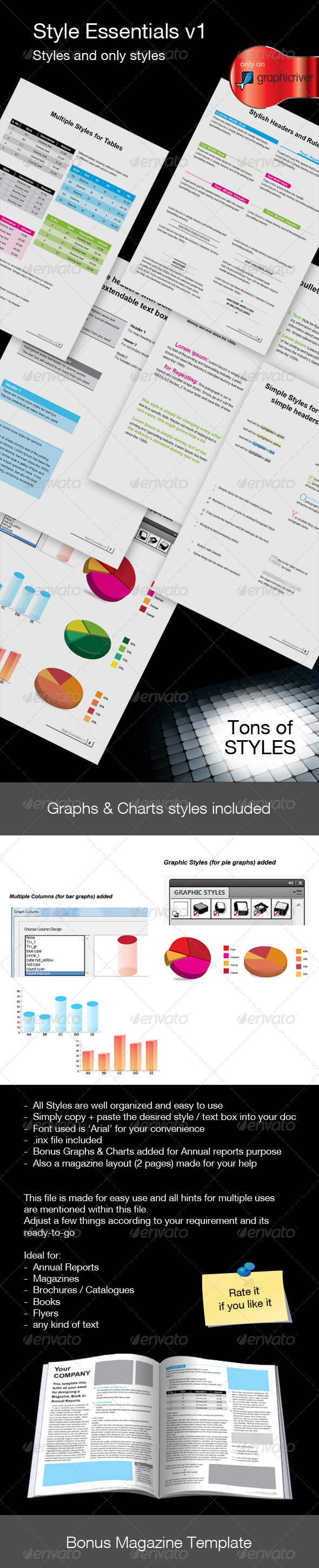 Style Essentials v1 - Magazines Print Templates