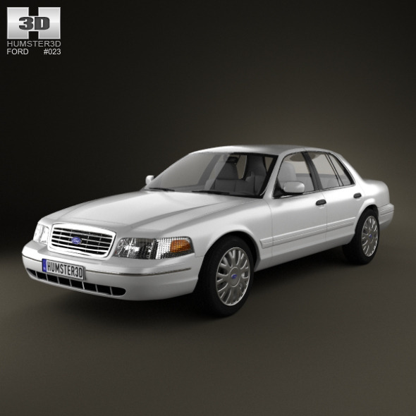 Ford Crown Victoria 2005 - 3DOcean Item for Sale