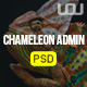 Chameleon Admin PSD Template - ThemeForest Item for Sale
