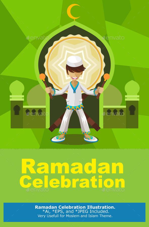 Ramadan Celebration - Religion Conceptual
