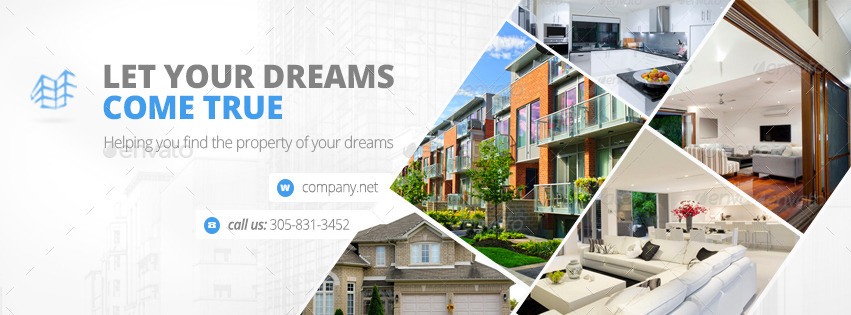 Real Estate Facebook Cover Bundle 17 Designs by zokamaric ...