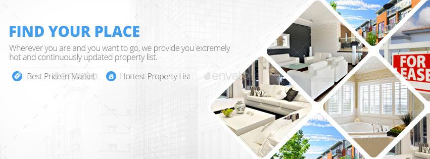 Real Estate Facebook Cover Bundle 17 Designs By Zokamaric Graphicriver