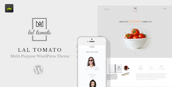 Lal Tomato | Multi-purpose WordPress Theme
