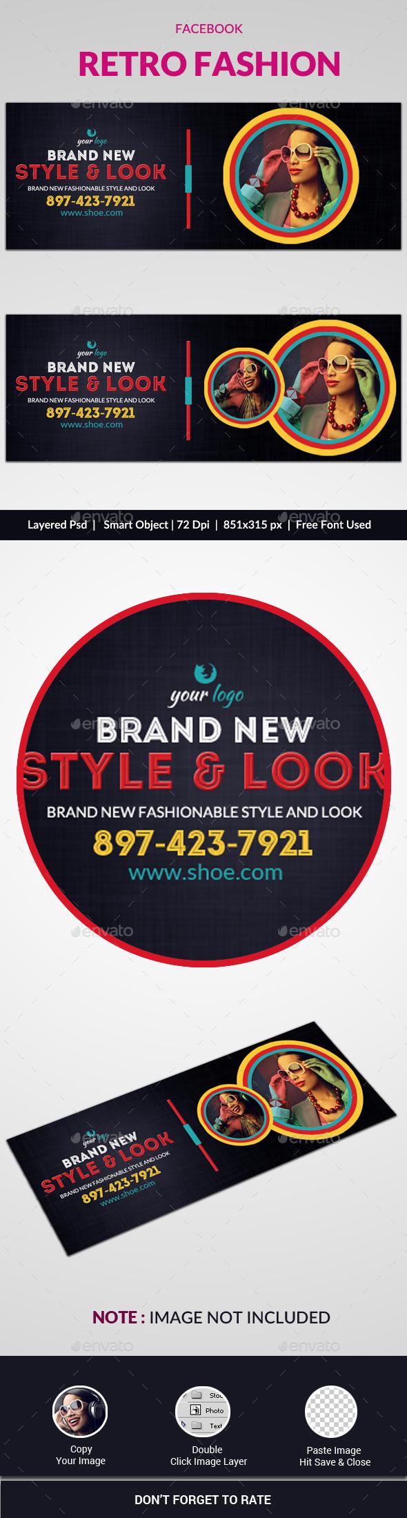 Retro Fashion Facebook Cover