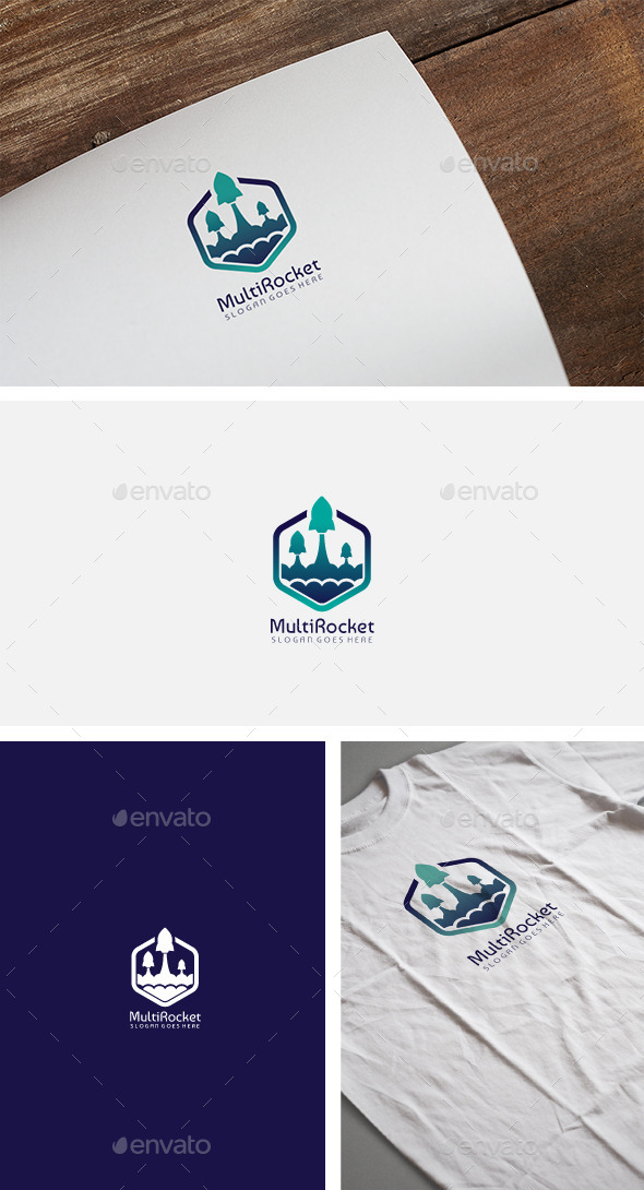Rockets Logo - Abstract Logo Templates