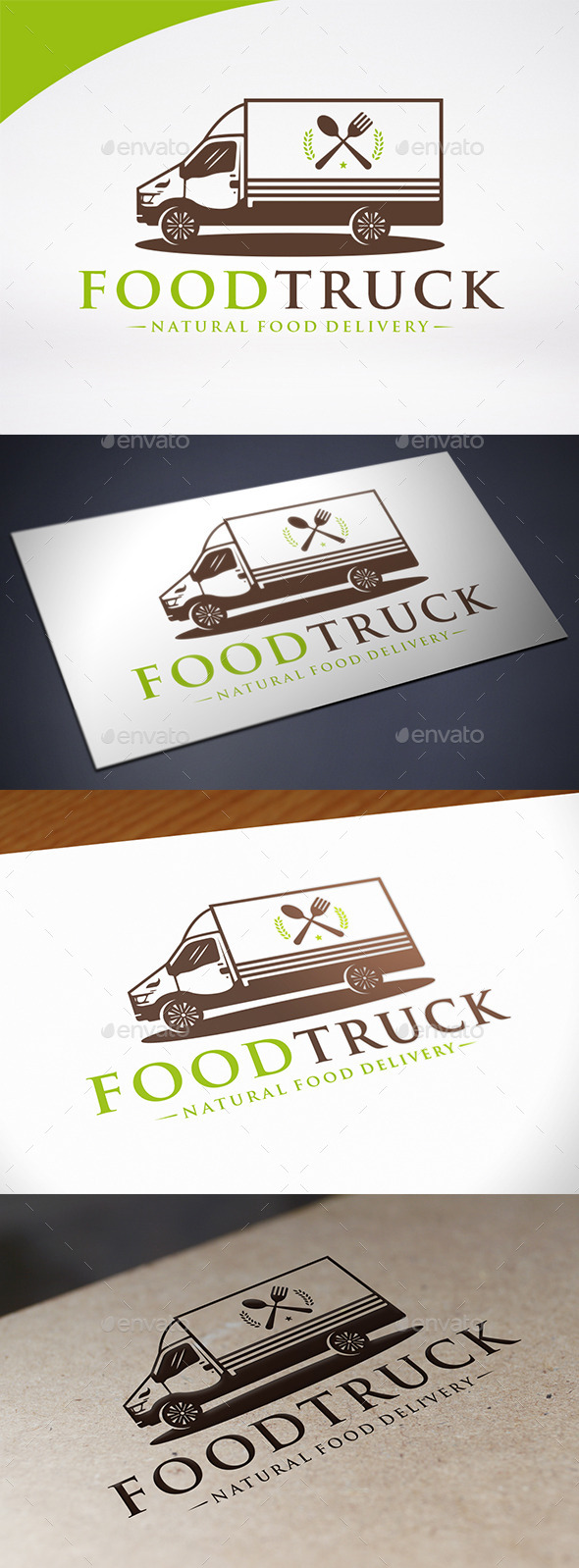 Food Truck Logo Template - Objects Logo Templates
