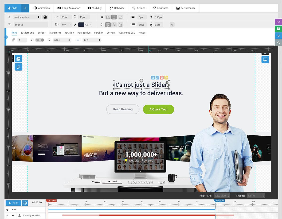 slider revolution responsive wordpress plugin by themepunch codecanyon