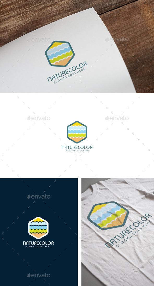 Nature Colors Logo - Symbols Logo Templates