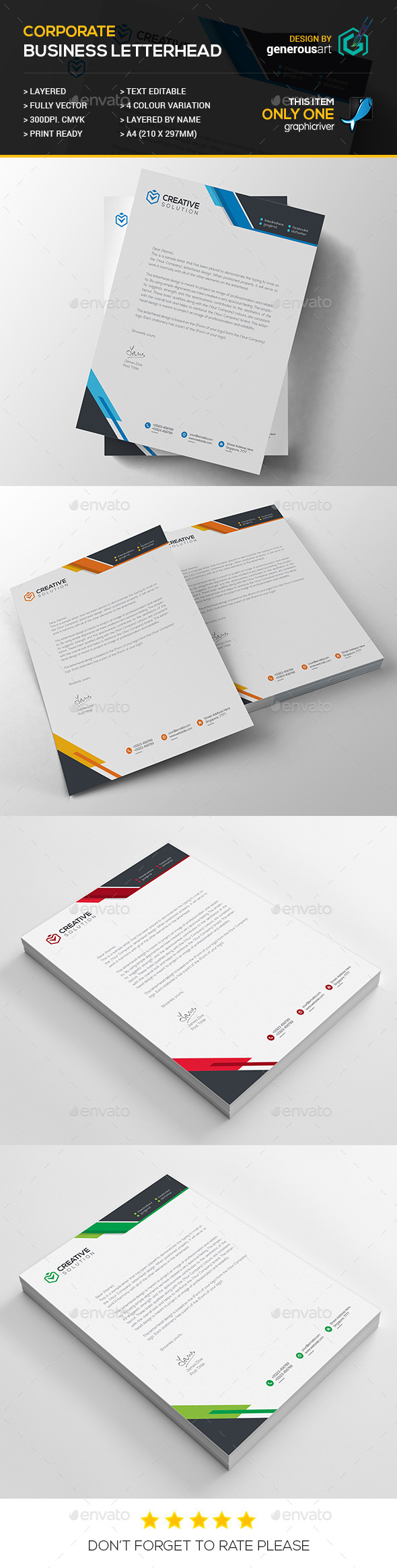 Business Letterhead_17 - Stationery Print Templates