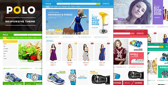 Polo - Advanced Responsive Magento Theme