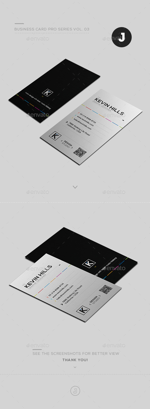 Business Card Pro Series Vol. 03 - Creative Business Cards