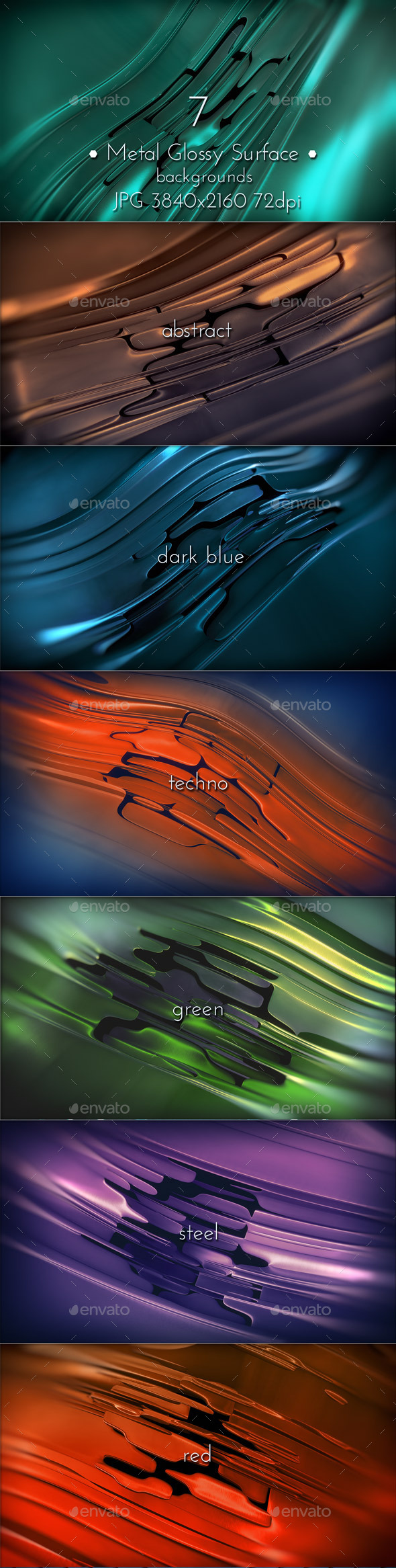 Metal Glossy Surface - Tech / Futuristic Backgrounds