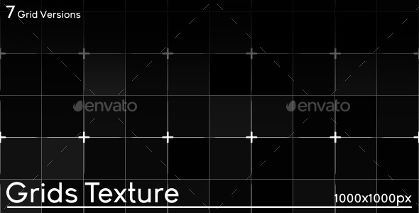 Grids Texture - 3DOcean Item for Sale