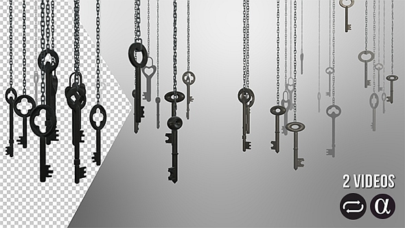 Hanging Keys 2 Pack