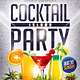 Cocktail Island Party Flyer - GraphicRiver Item for Sale