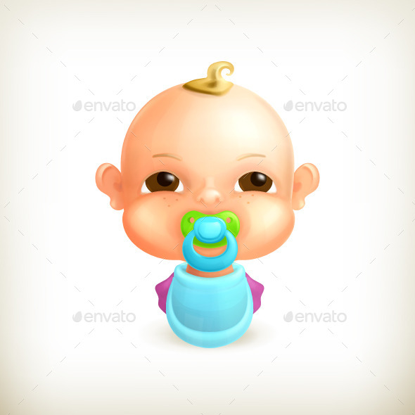 Baby Illustration - People Characters