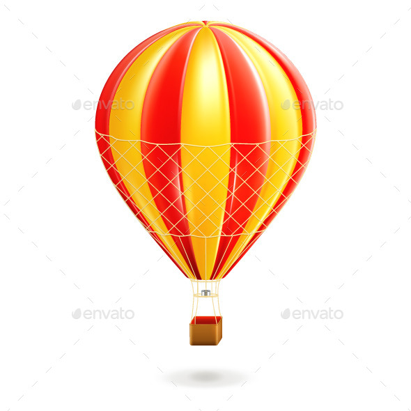 Air Balloon Illustration - Man-made Objects Objects