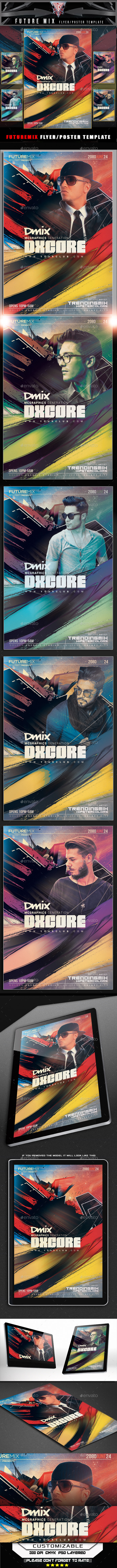 Future Mix Flyer Template