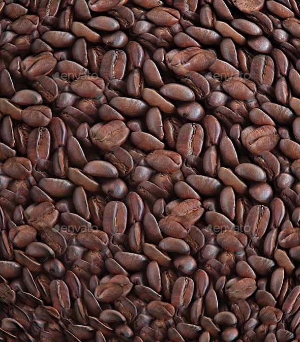 Coffee Beans Tileable Texture