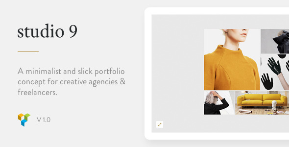 Studio 9 – Creative Portfolio Theme