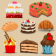 Cakes and Breads - GraphicRiver Item for Sale