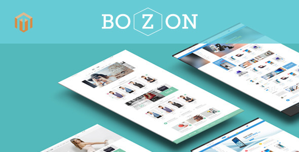 Bozon – Multipurpose Responsive Magento Theme
