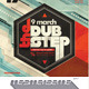 Retro Dubstep Party Poster - GraphicRiver Item for Sale