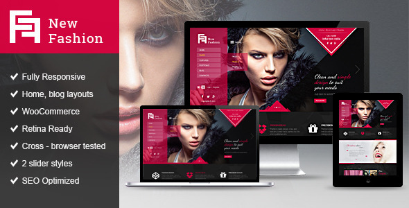New Fashion Magazine WordPress theme