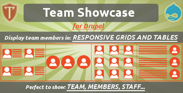 Team Showcase for Drupal - CodeCanyon Item for Sale