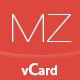 MilZinCard - Responsive vCard Template  - ThemeForest Item for Sale