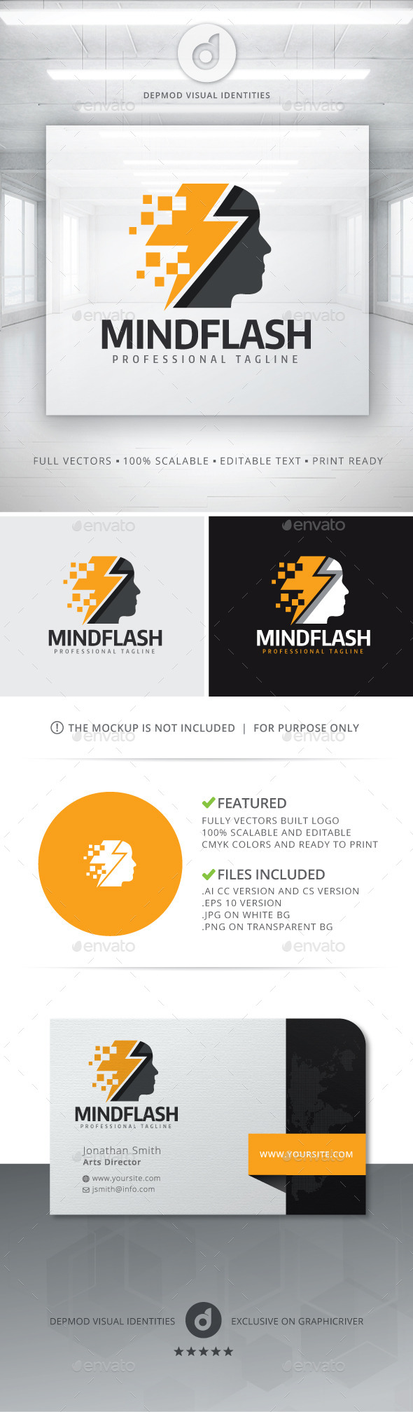 Mind Flash Logo