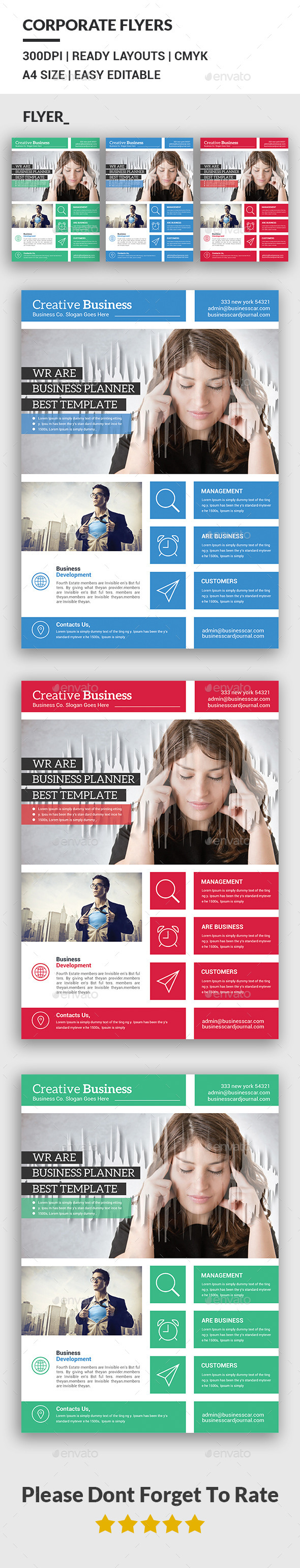 Creative Business Flyer Templates - Corporate Flyers