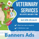 Banners Veterinary - GraphicRiver Item for Sale